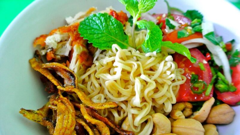 Tips memasak mie instant yang sehat